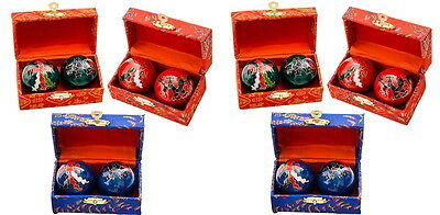 6 Sets Chinese Health Stress Baoding Balls Therapy Dragon Wholesale Deal