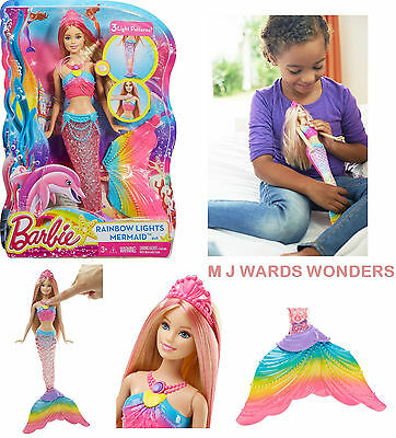 Barbie DHC40 - Rainbow Light Mermaid Doll