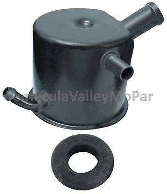 OE-Style Breather Cap with Grommet for 1970-1974 MoPar B-Body