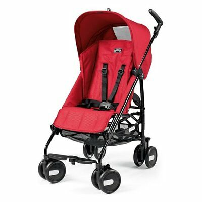 Peg Perego pliko mini Passeggino Mod red