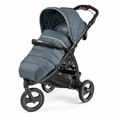 Peg Perego Book Cross Passeggino Completo Blue Denim