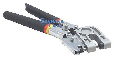 Stud Crimper Forceps Metal Punch Lock Board Drywall Hand Tool Single Hand Keel