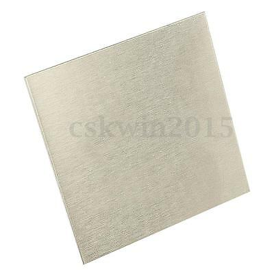 High Purity 99.96% Nickel Ni Sheet Plate 1mm x 100mm x 100mm For Electroplating