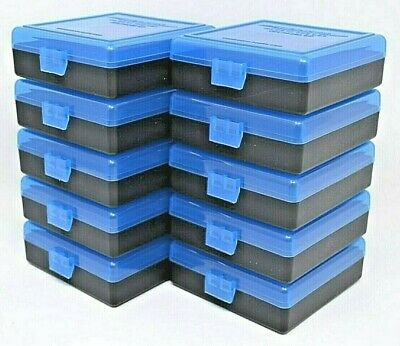 22 lr Ammo Box / Case / Storage (10 PACK) 1000 Rnds of STORAGE (NO AMMO)