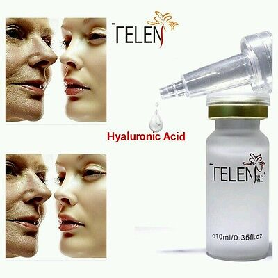 Telen 100% Pure Strong Hyaluronic Acid Anti Age Wrinkle Collagen Serum Hydrating
