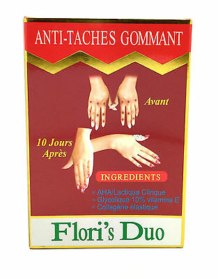 Flori's Duo Anti-Taches Gommant Serum and Lotion (2 Bottles)