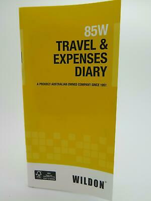 Wildon Travel & Expenses Diary 85W  Vehicle Log WIL085