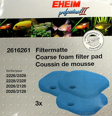 Eheim (2616261) Coarse Filter Aquarium Pads 2026 2128 2226 2328