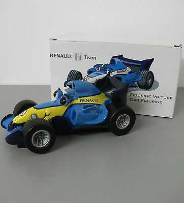 Jim Bamber Renault F1 Smiling Race Car. FREEPOST.