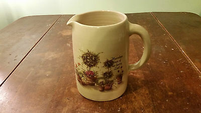 Marshall Pottery Pitcher Texas Pottery Hand Crafted Yester Years