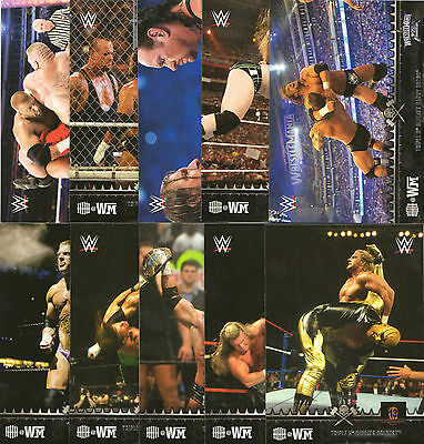 """Topps Wwe Road To Wrestlemania 2015 """"hhh"""" Triple H Chase Set - All 10 Cards"""