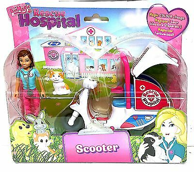 Animagic Animal Rescue Hospital - Scooter with Doll - 60138 - New