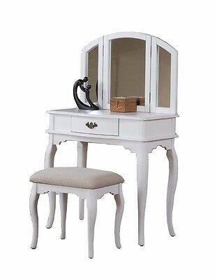 Marvelous Thomasville Bogart Collection Vanity With Stool 450 00 Machost Co Dining Chair Design Ideas Machostcouk