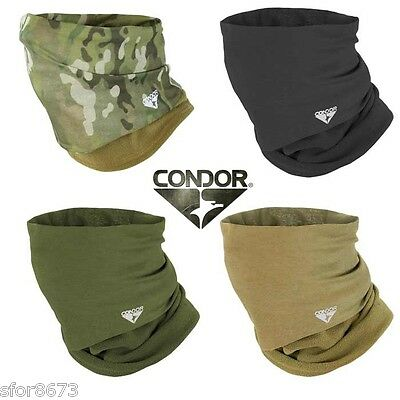 Condor Micro-Fleece Multi Wrap Beanie Head Cover Scrim Scarf Neck Face Warmer