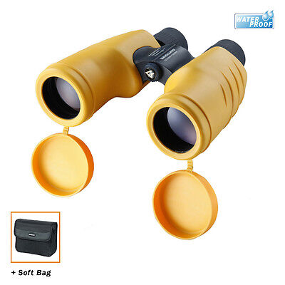 Vanguard Ocean 7X50 Binoculars - 100% Waterproof - Yellow & Black