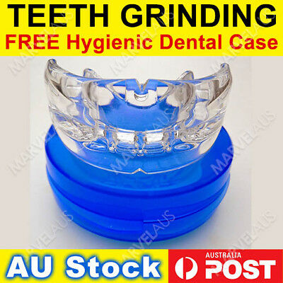 TEETH GRINDING BRUXISM Custom Mouthguard Mouldable Mouth Guard Night Boil Bite