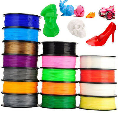 3D Printer Filament ABS/PLA 1.75mm 1kg/roll 20+ colours Aussie Stock Fast Ship