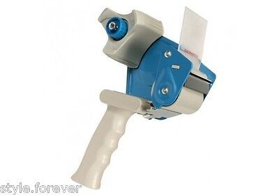 Blue/Red 2 Inch Tape Gun Dispenser Packaging Cutter Heavy Duty TapeGun Dispenser