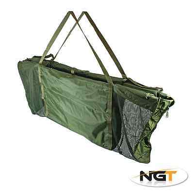 ngt Delux Floating Weigh Sling 120x55x14 cm Recovery Carp Tackle + 5mt pva mesh