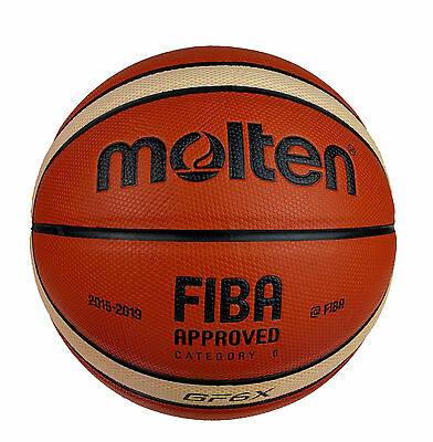 Molten GF6 X Basketball   Composite Leather   Free Express Delivery  Size 6