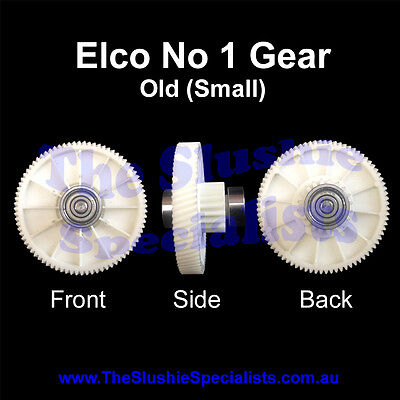 Elco #1 old style Gear - 13mm bearings for SPM/Faby/GBG Slush Machines: Gear box