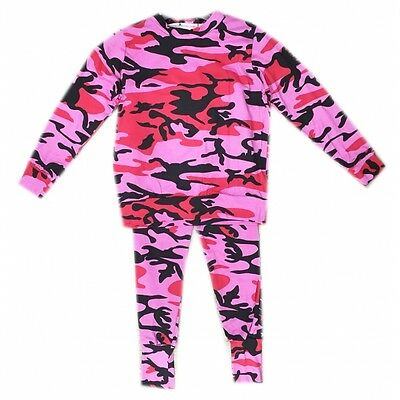 New Kids Girls  Camouflage Print Loungewear Pink Tracksuit Training Kit Age3/13