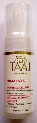 Taaj Paris Mousse Micellaire Demaquillante Nettoyante Visage 50 Ml Neuf