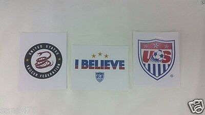 USA national soccer team stickers - car bumber stickers