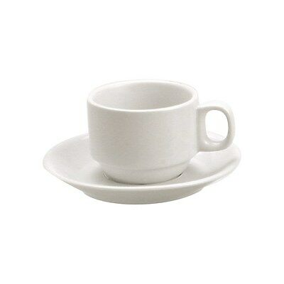 "Vitroceram Stackable Cup 225ml - White ""Vitroceram"" (x6)"
