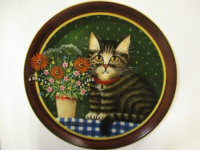Uncle Tad's Cats Oliver's Birthday  Anna Perenna Collector Plate