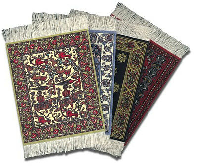 Coaster Rug Coaster Set Of 4 Jaipur Bokhara Fars Heritage Rug International Asst