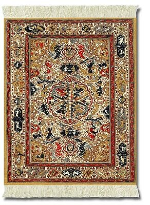Mouserug Mouse Pad Dusty-Gold Ancient Oriental Rug Persian Rugs New Lextra Fiber