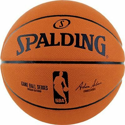 Spalding NBA Game Ball Series | Composite Leather | Size 7 | Free Delivery