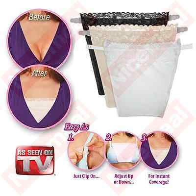 Cami Secret Pack of 3 colors As Seen On TV Modesty Panels Women's Camisoles