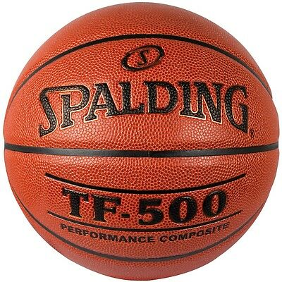 Spalding TF 500 Composite Leather Basketball | Free delivery Australia Wide