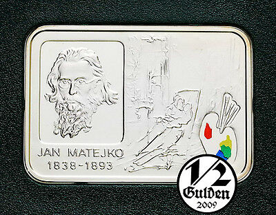 POLAND 20 Zlotych 2002 Jan Matejko Silver Proof Coin Polish Mint