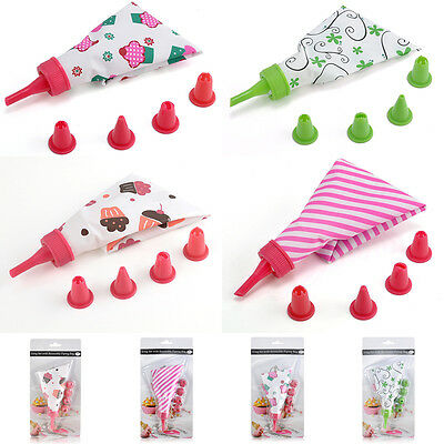 Practical Cake Piping Nozzle Cream Icing Bag Pastry Pen Baking Decorating Tools