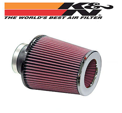 K&N Twin Conical Chrome AIR POD FILTER 3 inch x 5 inch