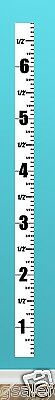 Kids Wall SLIM Ruler Growth Chart - Height Children, Boys and Girls  / Mini