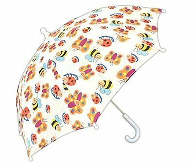 Childrens Girls Bug Butterfly Ladybug Insect Rain Umbrella