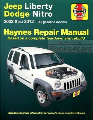 shop manual grand cherokee service repair jeep haynes book chiltonshop manual service repair liberty jeep book haynes chilton