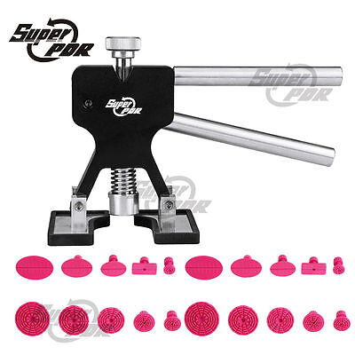 Super PDR Paintless Hail Repair Removal Tools Mini Dent Lifter Glue Puller Tabs
