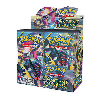 Pokemon XY Ancient Origins Booster Box -Factory Sealed - 36 Packs- FAST shipping