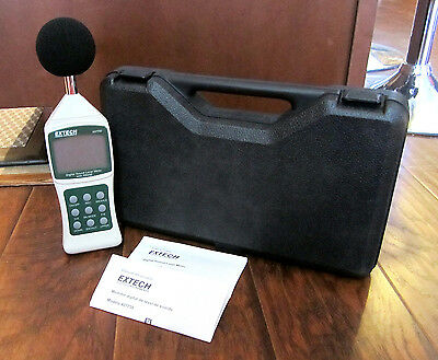 EXTECH Decibel Sound Level Meter with PC Interface – 30-130 (407750) – NEW