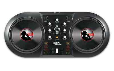 Ion Audio Discover Dj Computer Dj System Digital Turntable Contoller