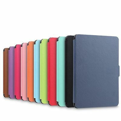 Smart Magnetic Wake /Sleep PU Leather Case Cover For Amazon Kindle Paperwhite