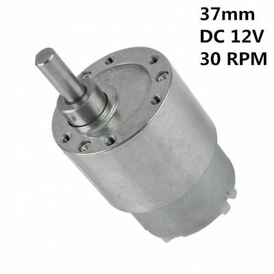 DC 12V 60RPM High Torque Low Noise Electric Metal Gear Box Speed Reduction Motor