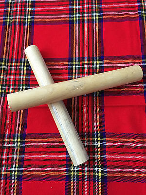 New Brand Cocous Wood Wooden Claves  /wooden Rhythm Stick Percussion Instrument