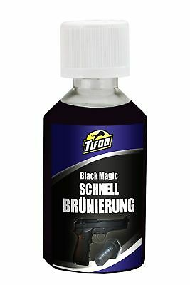 Quick bluing solution Black Magic (50 ml) - DIY black finishing, cold browning