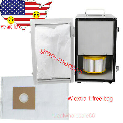 Dental Laboratory Single-Row Vacuum Dust Collector collecting +EXTRA 1* dust BAG